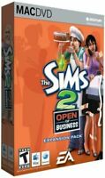 The Sims 2 Open for Business Mac New in Box Simulation