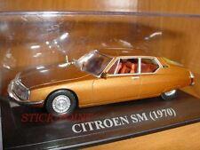 CITROEN SM METALLIC BROWN 1970 1:43 RARE WITH BOX