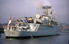ROYAL NAVY COUNTY CLASS GUIDED MISSILE DESTROYER HMS LONDON AT NEWCASTLE IN 1972