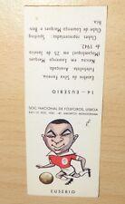 EUSÉBIO da SILVA FERREIRA ROOKIE CARD Sociedade Nacional de Fosforos Lisboa 1961