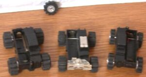 3 Vintage Chassis 2 Schaper Stomper & 1 LJN Rough Riders  For Parts or Repair