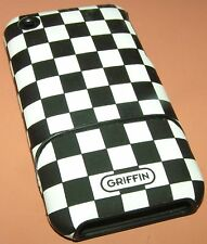 Griffin elan form etch hard shell case for Apple iPhone 3G/3GS, etched leather