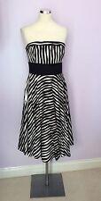 Monsoon Striped Sleeveless Dresses Midi for Women