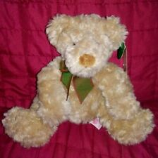 Russ Berrie Higgins Bears of The Past Tan Brown Soft 7in Plush Hang Tag
