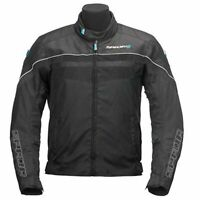 Spada Energy 2 Waterproof Breathable Motorcycle Motorbike Tour Jacket - Black