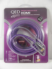 QED 7M PERFORMANCE HDMI CABLE, LED TV, HDR, PS4, XBOX 1, SMART LEAD