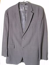 Jos A Banks 42L Gray Mens Sport Coat Blazer Suit Jacket