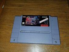 Contra 3 Not For Resale Demo SNES Super Nintendo NFR III Alien Wars Rare Cart US