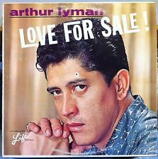 Arthur Lyman Group - Love For Sale LP VG+ L-1009 Exotica Mono 1963 Record
