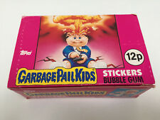 1985 UK / Ireland Garbage Pail Kids 1st Series EMPTY Box (1-494-1-6)