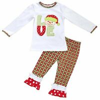 Girls Christmas Snowman Outfit Outfit
