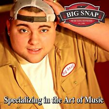 BIG SNAP - Specializing in the Art of Music ft. THE LACS CD EP - 1 CD ships fast