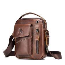 Man Bag New Male Crossbody Casual Handbag Genuine Leather Vintage Shoulder 1pc