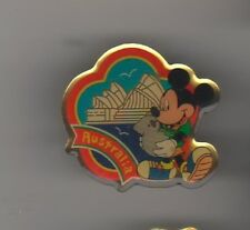 Mickey Mouse hold a koalaJapan Authentic Disney pin Never Sold