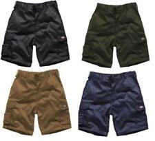 Shorts e bermuda da uomo neri in cotone taglia 46