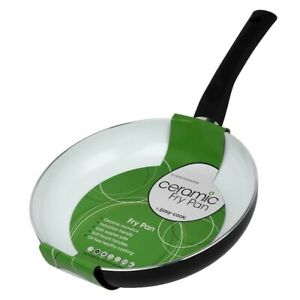 Easy Cook 24cm Non Stick Ceramic Frying Cooking Pan Gas Electric Induction Hobs