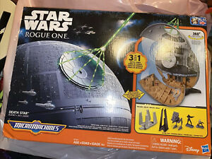 Hasbro Star Wars Rogue One Micro Machines Death Star 360 Degree Playset Sealed