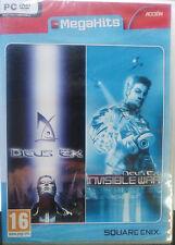 MEGAHITS DEUS EX & DEUS EX: INVISIBLE WAR. PACK JUEGOS PC. NUEVO, PRECINTADO.