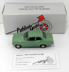 Pathfinder Models 1/43 Scale PFM34 - 1968 Vauxhall Viva HB 1 Of 500 Green