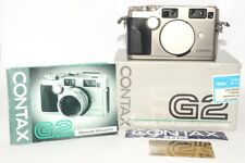 Contax G2 Solo Corpo / Body Scatolata Con Documenti In Italiano