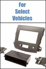07-13 Mitsubishi Outlander Single+Double Din Car Radio Stereo Dash Install Kit