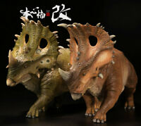 Nanmu 1/35 Sinoceratops Figure Ceratops Dinosaur Model Collector Toys Kid Gift