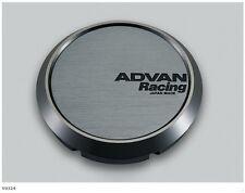 YOKOHAMA ADVAN Racing wheels Center Cap FLAT (φ73 Hyper Black) from JAPAN