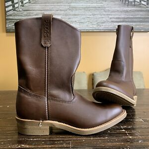 NEW RED WING NAILSEAT PECOS MEN'S 11-INCH SOFT TOE PULL-ON BOOT USA MADE