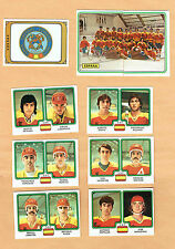 1979 Panini World Hockey Team Espana (Spain), Set of Nine
