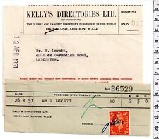 1951 - Kellys Directories Ltd - London & Leicester