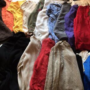25 xJob Lot Mega Bundle VINTAGE ST MICHAELS CLOTHES Skirts Jumpers Tops Lingerie