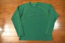 Men's Patagonia Ls Crew Neck Base Layer Shirt Green Medium