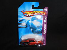 2007 HOT WHEELS TEAM: MUSCLE MANIA - #2/4  '68 PLYMOUTH HEMI 'CUDA RED - MIP