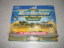 Micro Machines Military #11 Dark Destroyers 1999 *FACTORY SEALED*