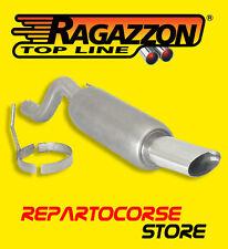RAGAZZON TERMINALE SCARICO OVALE 110x65mm ALFA MITO 1.6 JTDm 120 CV 88kW 09/08->