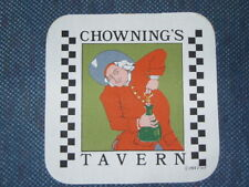 """6 fabric pieces 8""""x8"""" - CHOWNING'S TAVERN, WILLIAMSBURG - Printed for potholders"""