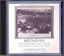 Wilhelm Furtwängler: Beethoven Symphony No. 6 Lénore FURTWANGLER Music & Arts CD