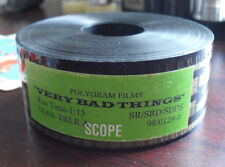 Unique 35mm Movie Theatre Used Film Trailer -  Very Bad Things