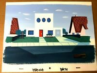 Powerpuff Girls Production background S06E07 Mizzen in Action cel obg animation