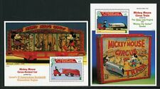 St. Vincent Scott #2239-2240 MNH S/S Mickey Mouse DISNEY TRAINS CV$14+