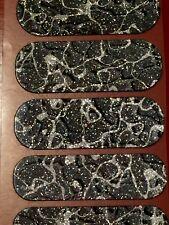 Jamberry Half Sheet - Original all Sparkles VHTF Moon Glass - Retired