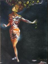 "Aristomenis Tsolakis ""NUDE WOMAN IN GRACE"" Greek Painter 2002"