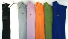 LACOSTE Lot of 7 Men's Short Sleeve Cotton Polo/ T-Shirts Size 6 / US XL