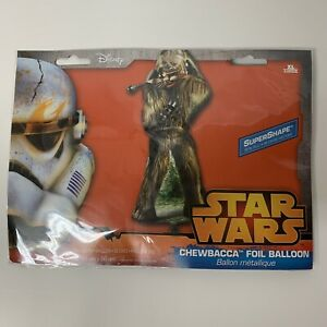 """Star Wars CHEWBACCA Standing Foil Balloon Birthday Party Decoration Shape 17x38"""""""