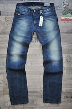Distressed Regular Jeans Men's Low Rise Tapered