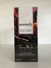 Thierry Mugler The Taste of Fragrance Womanity 50ml 1.7oz New