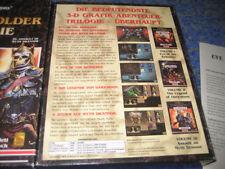 Eye of the Beholder triologie PC CD rarità oggetto da collezione prima edizione BIG BOX
