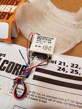 One Corby Industries 25 Relay Momentary 12vdc Spdt 6in Wires Nos