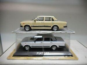 FIAT 132 ESCOGER/CHOOSE/CHOISIR COLOR 1:43 DeAGOSTINI IXO
