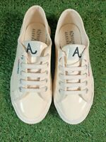 Superga x Alexachung Yellow Gloss Womens Size 3 UK 35.5 EUR